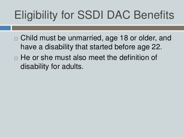 Social Security For Children with Disabilities