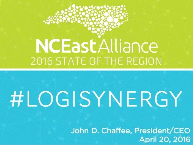 NCEast Alliance 2016 State of the Region Slide 2