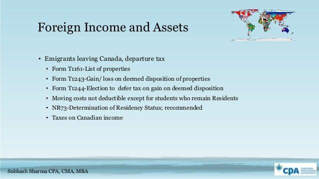 2016 Income tax update - Canada