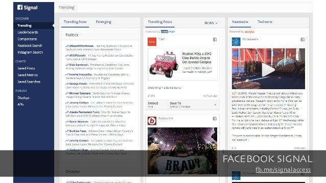 FACEBOOK SIGNAL fb.me/signalaccess