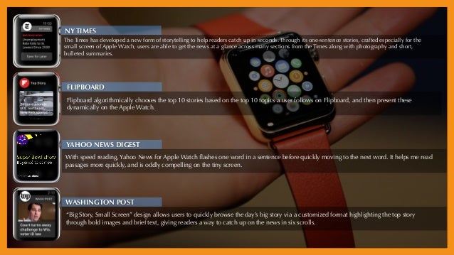 Prices come down, avail goes up: explosive growth Apple Watch 2 coming soon: camera, more sensors News/media outlets begin...