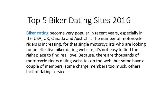 best biker dating site uk