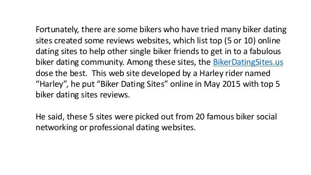 Biker dating network