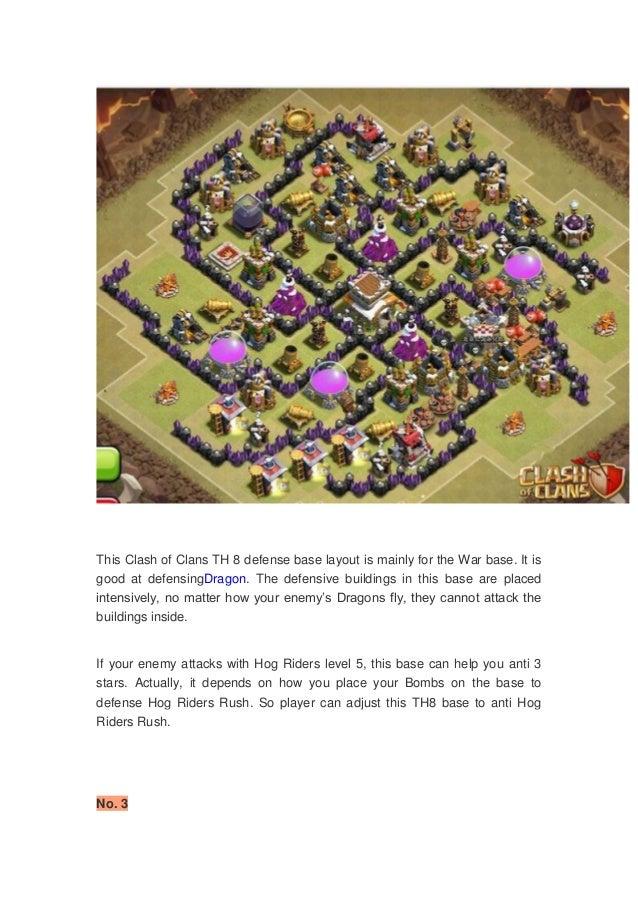 Base War Th Base Coc Th 8 2