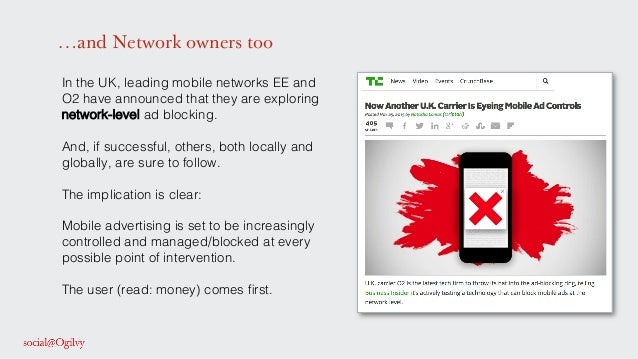 …and Network owners too In the UK, leading mobile networks EE and O2 have announced that they are exploring network-level ...