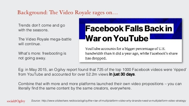 Background: The Video Royale rages on… Trends don't come and go with the seasons. ! ! The Video Royale mega-battle will co...