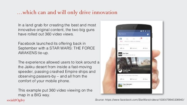 …which can and will only drive innovation In a land grab for creating the best and most innovative original content, the t...