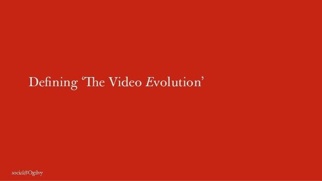 Defining 'The Video Evolution'