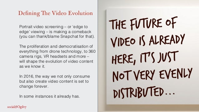 Defining The Video Evolution Portrait video screening – or 'edge to edge' viewing – is making a comeback (you can thank/bl...