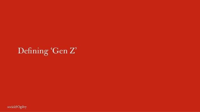 Defining 'Gen Z'