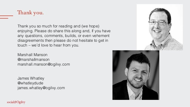 Thank you. ! Thank you so much for reading and (we hope) enjoying. Please do share this along and, if you have any questio...