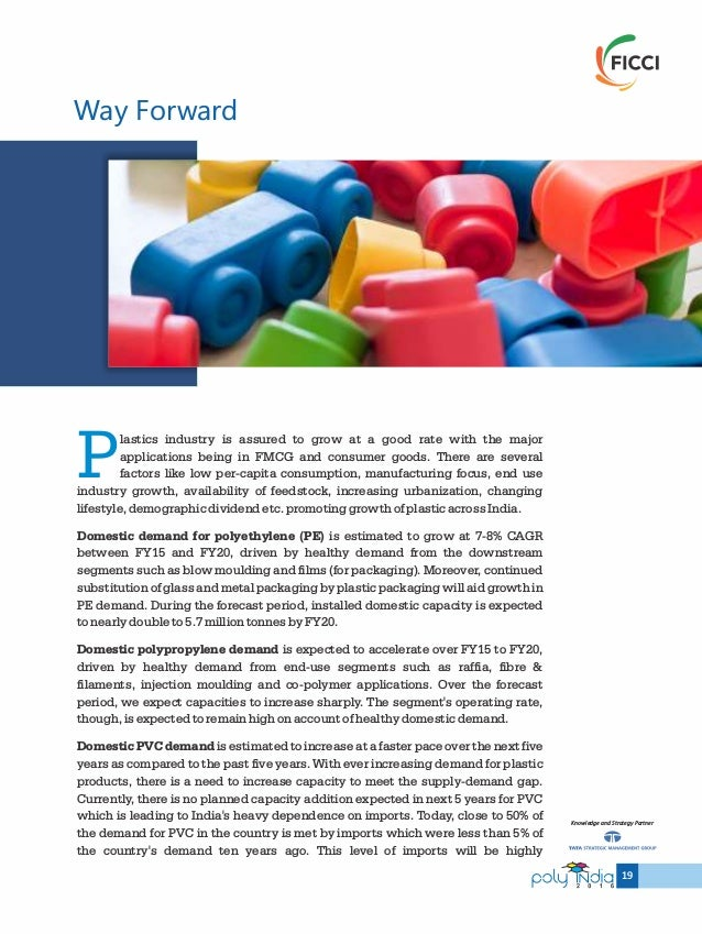 Indian Plastic Industry: Challenges & Opportunities
