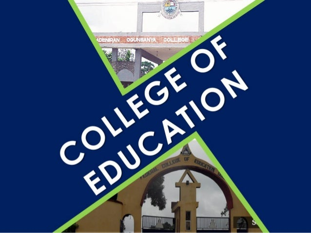 MOST SOUGHT-AFTER COLLEGES OF EDUCATION WHICH COURSES ARE ENJOYING THE MOST INTEREST? ALVAN-IKOKU YUSUF BALA USMAN FCE, ZA...