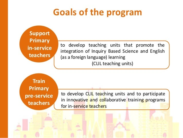 Collaborative Teaching Goals ~ Promoting the integration of inquiry based science and