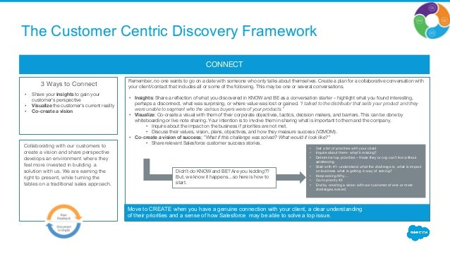 Customer Centric Discovery