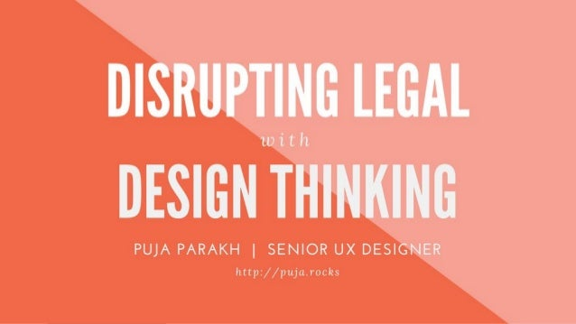 Ask The Right Questions Disrupting Industries Through UCD-Driven Discovery Puja Parakh @pujaparakh | http://puja.rocks