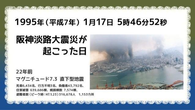 防災についてまとめたこと 2017 01-17