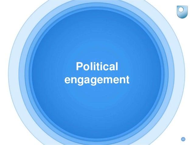 Political engagement 20