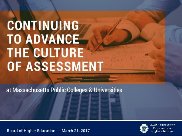 Board of Higher Education — March 21, 2017