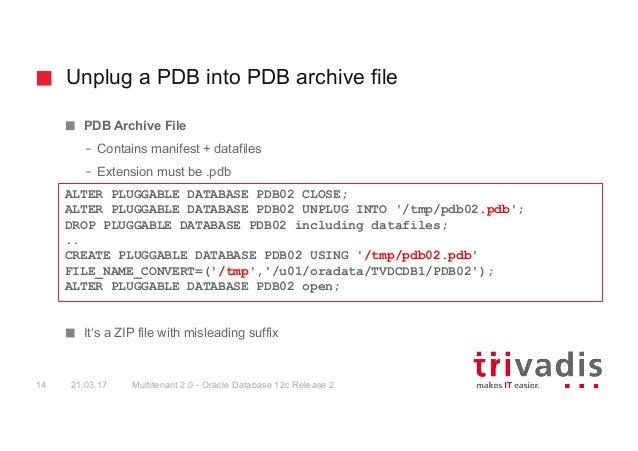 Oracle Multitenant Database 2 0 - Improvements in Oracle Database 12c…