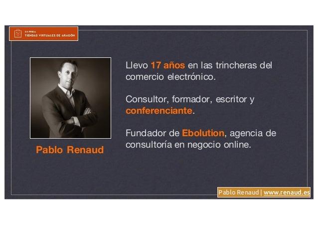 Las 6 claves para construir un Ecommerce resistente a Amazon - Pablo Renaud Slide 2