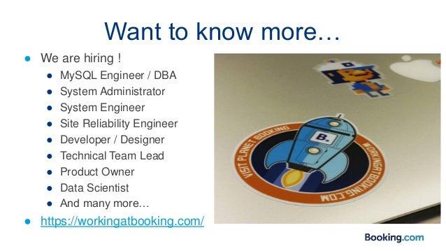● We are hiring ! ● MySQL Engineer / DBA ● System Administrator ● System Engineer ● Site Reliability Engineer ● Developer ...