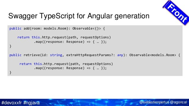 Java EE, Micro-services, Typescript and Angular 4 x