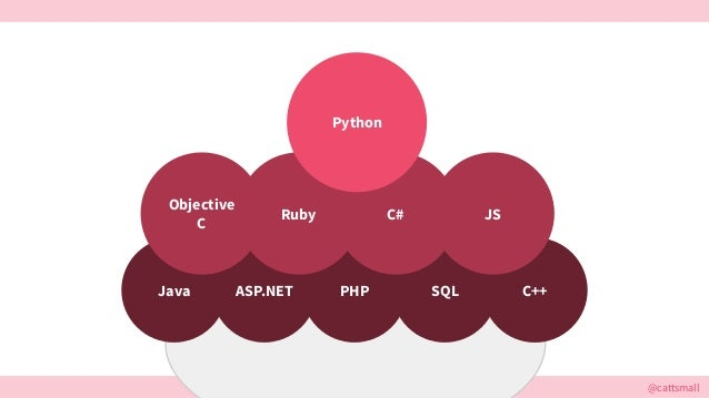 @cattsmall@cattsmall PHPJava SQL C++ASP.NET Objective C C#Ruby JS Python