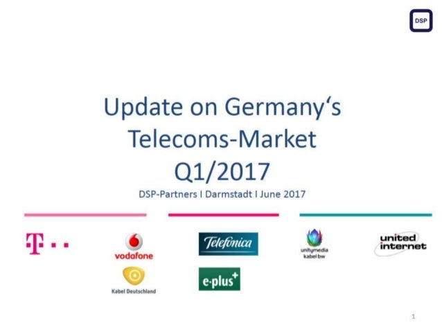 Telefonica/ePlus with 44,6 mil customers; Telekom with 42,1 mil customers; Vodafone with 30,7 mil customers.