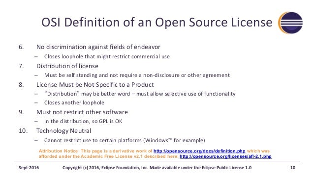 Eclipse Ip And Licensing