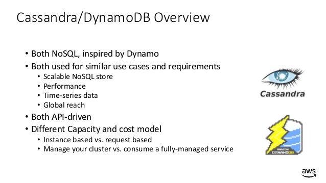 How to Migrate from Cassandra to Amazon DynamoDB - AWS