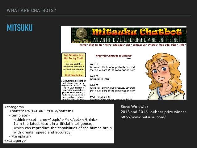 Chatbotの概要とユースケース紹介 - サービス(SpiderAF)のサーバー側の
