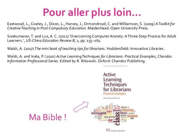 Akoun, A. and Pailleau, I. (2014) Apprendre autrement avec la pédagogie positive. Paris: Eyrolles. Berthiaume, D. (2014) E...