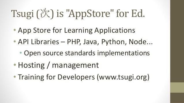 WA4E.com tsugi.org Developer Training