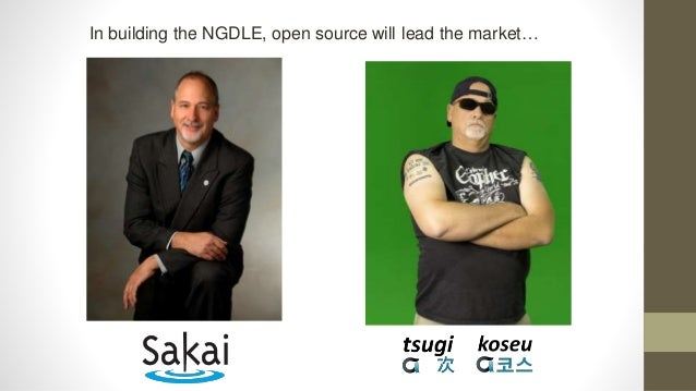 Building the NGDLE with Tsugi (次) and Koseu(코스)