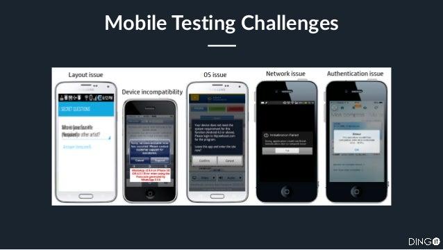 SauceCon 2017: Mobile Test Pyramid Slide 3