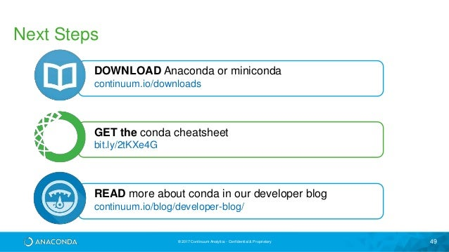 conda cheat sheet