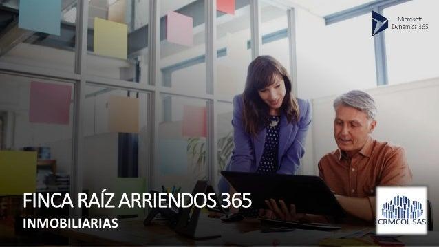 FINCA RAÍZ ARRIENDOS 365 INMOBILIARIAS