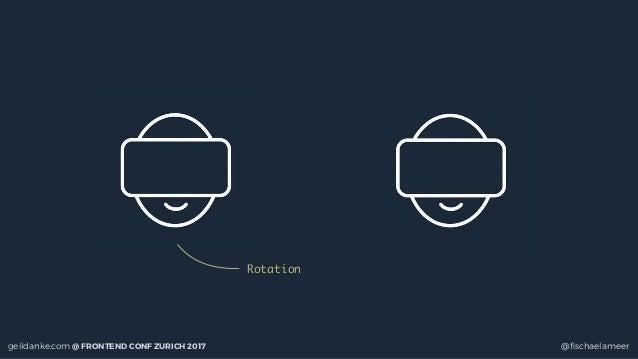 geildanke.com @ FRONTEND CONF ZURICH 2017 @fischaelameer Rotation