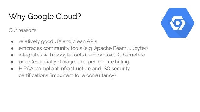google cloud platform for data science teams