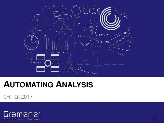 1 AUTOMATING ANALYSIS CYPHER 2017