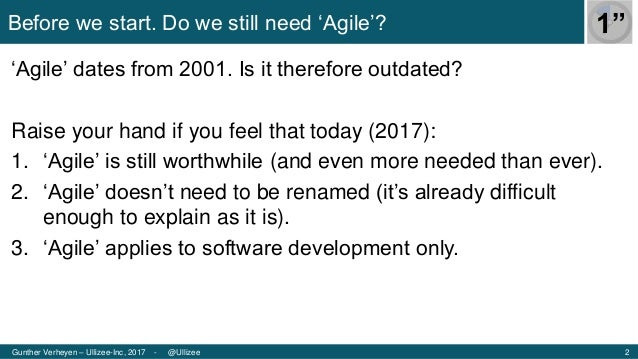 Agile Tour Vilnius 2017 - Agility in the face of Perplexity (by Gunther Verheyen) Slide 2