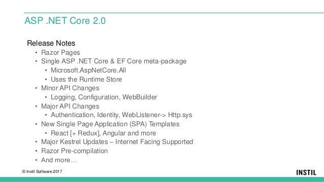 ASP  Net Core SPA Templates