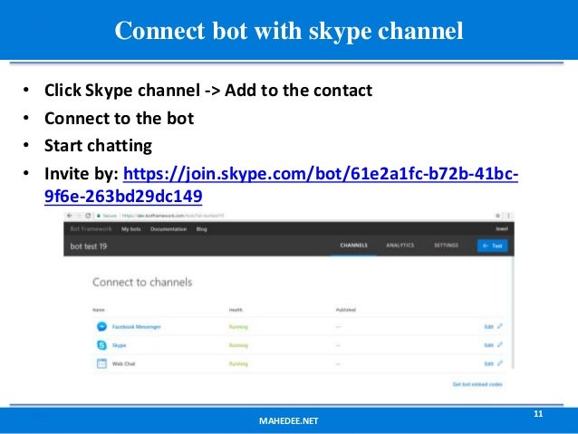 Chatbot development with Microsoft Bot Framework and LUIS