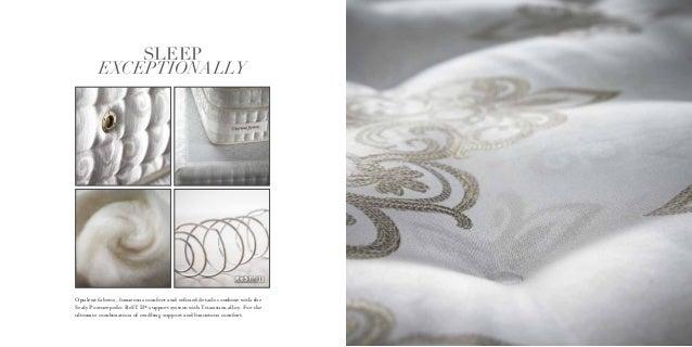 Sealy Posturepedic Crown Jewel Brochure