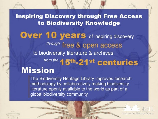 a research on biodiversity Department of biodiversity, earth & environmental science with world-renowned faculty the academy is a world leader in biodiversity and environmental research with an impressive collection of over 18 million specimens and artifacts gathered by history-making individuals like lewis and.
