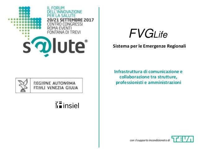 Sistema per le Emergenze Regionali Infrastruttura di comunicazione e collaborazione tra strutture, professionisti e ammini...