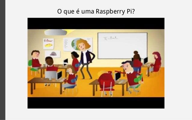 O que é uma Raspberry Pi?