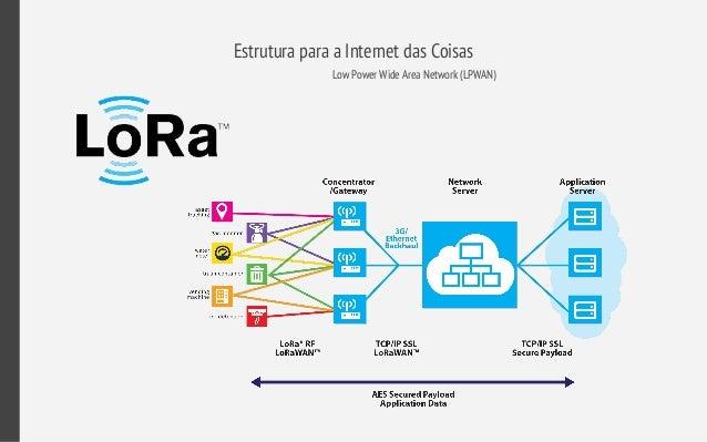 Estrutura para a Internet das Coisas Low Power Wide Area Network (LPWAN)