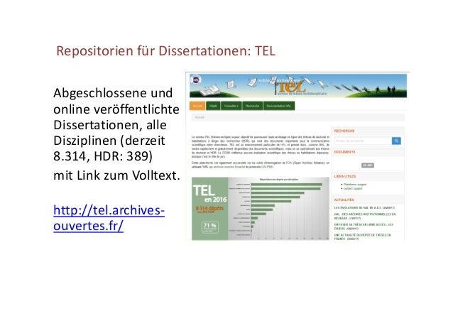 Aspekte des geisteswissenschaftlichen Open Access-Publikationswesens in Frankreich